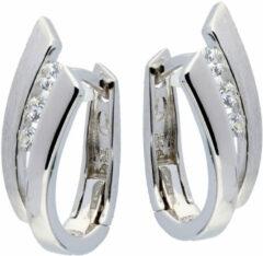 Elegance 107.6154.00 Oorbellen zilver met zirconia