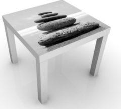 PPS. Imaging Beistelltisch - Sandy Stones No.2 - Tisch... weiss, 55 x 55 x 45cm