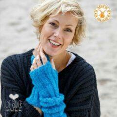 Blauwe De Reuver Knitted Fashion ARMWARMERS 100% NEDERLANDS (555)