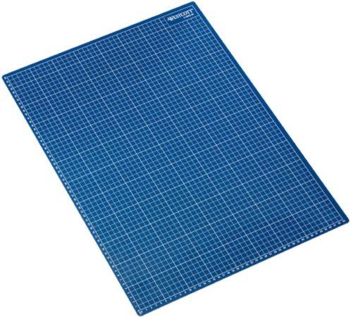 Afbeelding van Snijmat Westcott A2 blauw 5-laags 600x450mm, zelfherstellend AC-E46002