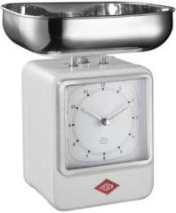 Wesco Retro Küchenwaage mit Uhr