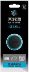 Zwarte Axe Luchtverfrisser Mini Vent 3 Cm Ice Chill Blauw