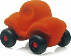 Rubbabu - Kleine grappige auto oranje