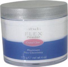 Zwarte IBD Flex Poeder Crystal Clear 113 gr.