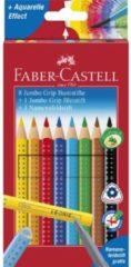 Faber Castell Kleurpotlood Faber-Castell Jumbo GRIP promotieset 8 + 1 + 1