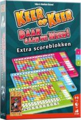 999 Games Scoreblokken Keer op Keer drie stuks Level 5, 6 en 7 Dobbelspel