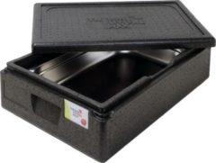 Zwarte Thermo Future Box Thermobox ( cateringbox) - 1/1 GN premium 16 cm