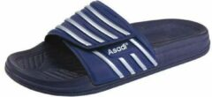 Asadi badslipper blauw maat 36