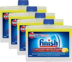 Finish Vaatwasmachinereiniger Citroen - 4 stuks - Grootverpakking