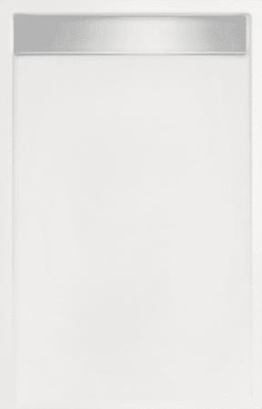 Afbeelding van Witte Beterbad Xenz Douchebak rechthoek zelfdragend Easy Tray 100x80x5cm Glans