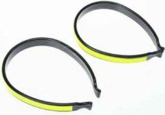 Gele Wowow broekklem met reflectie - Trouser clips