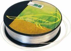 1x Nylon hobby binddraad/etalagedraad 5mm x 25 meter op rol - Transparant - Sieradendraad - Visdraad - Nylon draad op rol