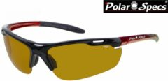 Rode Polar Specs® High Definition Contrast Velocity Sport PS9041 – Metallic Red Frame – Polarized HD Daytime – Medium – Unisex