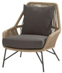 4 Seasons Outdoor Ramblas living chair Taupe with 2 cushions