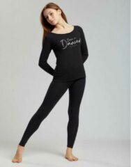 Temps Danse - Vixum - Legging - Dames - Yogabroek - Sportbroek - Dansbroek - Viscose - Zwart - XS