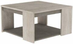 Young Furniture Vierkante salontafel Antibes 80x44x80cm - Champagne eiken