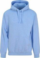 Blauwe Russel Workwear Surf hoodie pastel, Kleur Surf Blue, Maat XL