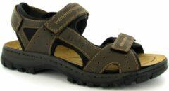 Rieker sandaal, Sandalen, Heren, Maat 45, bruin