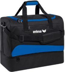 Donkerblauwe Erima sporttas Club 1900 2.0 zwart/donkerblauw 32 liter
