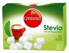Canderel groen Stevia Klontjes 65 stuks