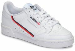 Adidas Jongens Sneakers Continental 80 J - Wit - Maat 35,5