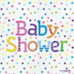 Roze Oaktree UK Ervetten Baby Shower Olifant 16 stuks