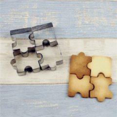 Favorite Things Koekjes Uitstekers Puzzel Vorm Puzzelstukjes 4 x