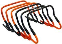 Precision Hordenset Verstelbaar Pvc Zwart/oranje 7-delig