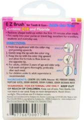 Swabplus, Inc SwabPlus Pure Snaps EZ Brush Bubble Gum - Borstelreiniging fluoride van de tandenborstel