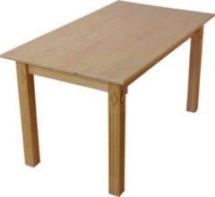 Möbel direkt online Moebel direkt online Massivholz-Esstisch Esstisch aus Massivholz 160x80 cm