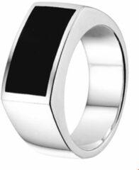 Huiscollectie Zilveren Ring onyx 21.00 mm (66)