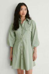 Groene Trendyol Shirt Mini-Jurk - Green