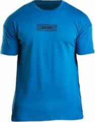 Bodybuilding T-Shirt Mannen Comfort Blauw - Pursue Fitness