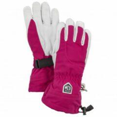 Hestra - Women's Heli Ski 5 Finger - Handschoenen maat 5, roze/grijs