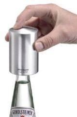 Transparante Westmark Push & Pull Kroonkurkopener 5,3 x 5,3 x 8 cm - Kunststof - Aluminium