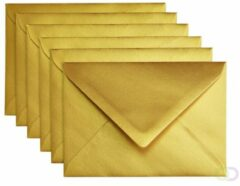 Gouden Papicolor Envelop Formaat 114 X 162 Mm C6 Kleur Gold Pearl 1 Sided