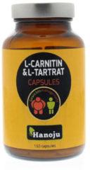 Hanoju L-Carnitine L-Tartraat 500 mg 150 Vegacaps