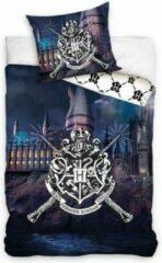Carbotex Harry Potter Dekbedovertrek Kasteel 140x200cm