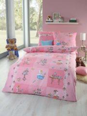 Rosa Kinderbettwäsche Cupcake Kaeppel pink
