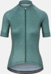 Giro Women's Chrono Sport Fietsshirt Grey groen Pounce XL