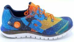 Blauwe Reebok ZPump Fusion AG- Hardloop/Fitness schoenen Heren- Maat 46