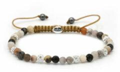 Karma Jewelry Karma Armband Spiral Evening Light White Crystal