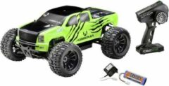 Groene Absima Amt3.4 1:10 Brushed Rc Auto Elektro Monstertruck 4Wd Rtr 2 4 Ghz Incl. Accu En Lader