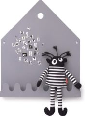 Grijze Stickythings Roommate Village Magneetbord Grey
