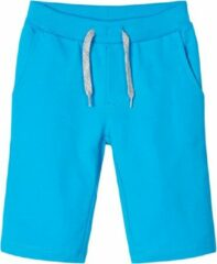 Blauwe Name it bermuda jongens - turquoise - NKMvermo - maat 104