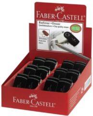 Faber-Castell Gum Faber Castell SLEEVE MINI zwart