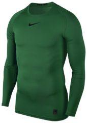 Groene Nike Pro Thermoshirt