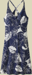 Patagonia Amber Dawn Dress Women Damenkleid Größe S valley flora: classic navy