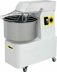 Witte Gastro Inox Professionele Gastro-Inox Spiraalmixer - 7 liter - vaste kom