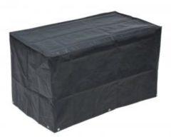 Zwarte Nature Hoes voor gasbarbecue 58x103x58 cm PE donkergrijs 6030613